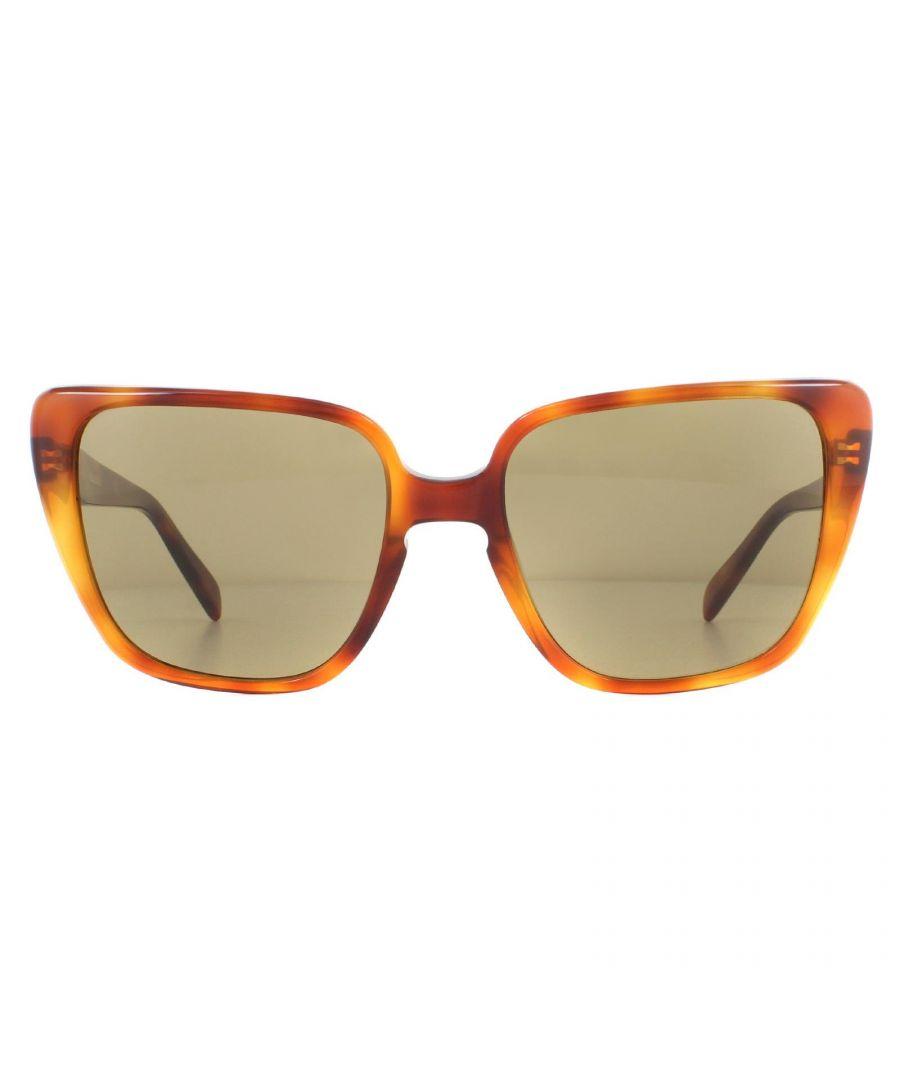 Image for Celine Sunglasses CL40047I 53E Light Havana Brown