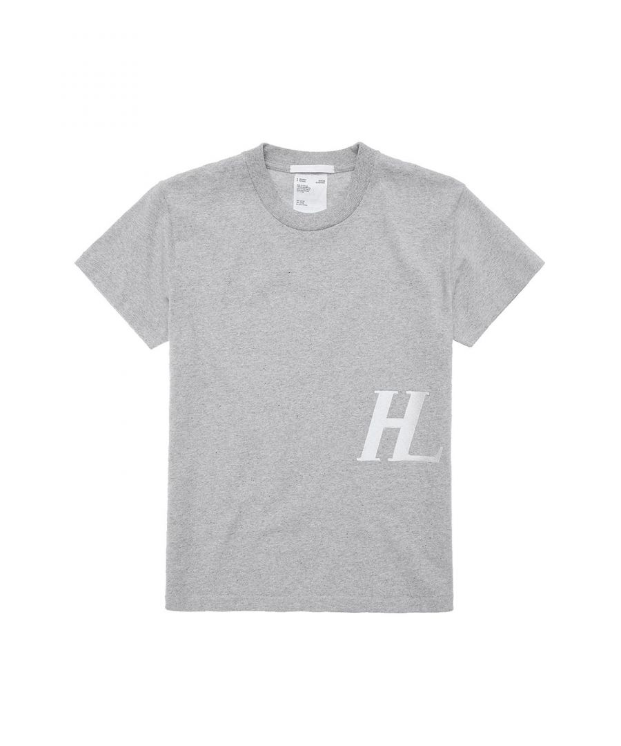 Image for HELMUT LANG WOMEN'S J06DW506YMX GREY COTTON T-SHIRT