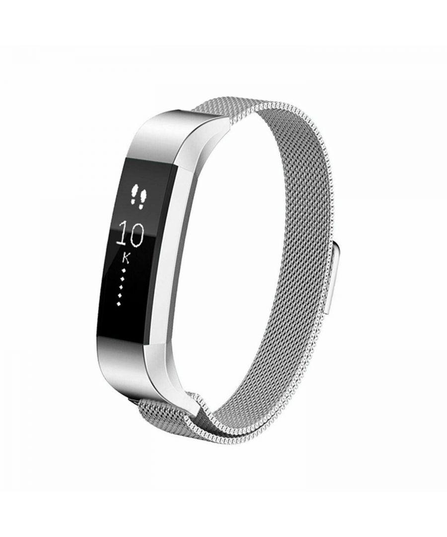 Image for Aquarius Fitbit Alta Milanese Replacement Straps Alta Silver