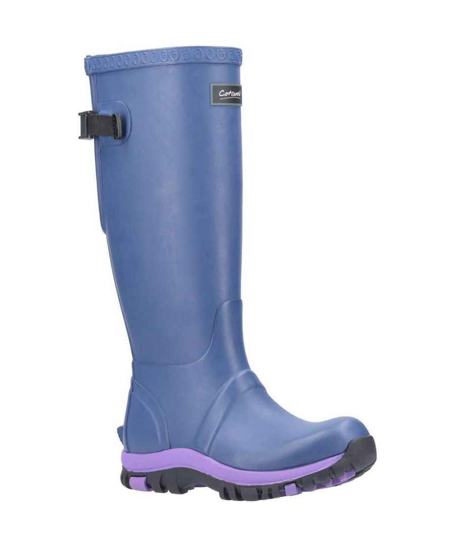 Image for Cotswold Womens/Ladies Realm Wellington Boots (Blue)