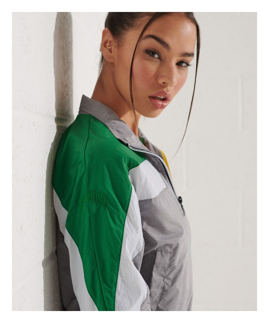Image for Superdry Dolman Overhead Track Top