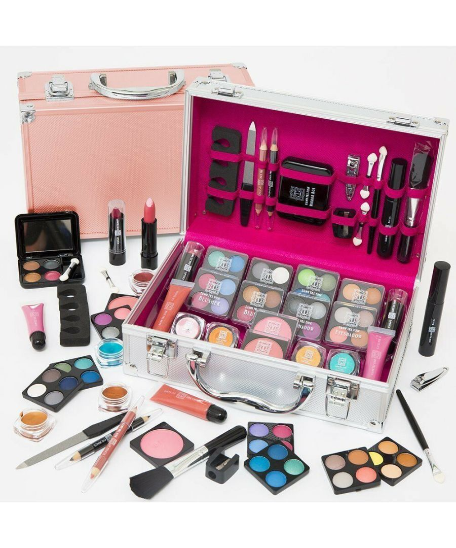 Image for Envie Make Up Vanity Case 54 Piece Silver