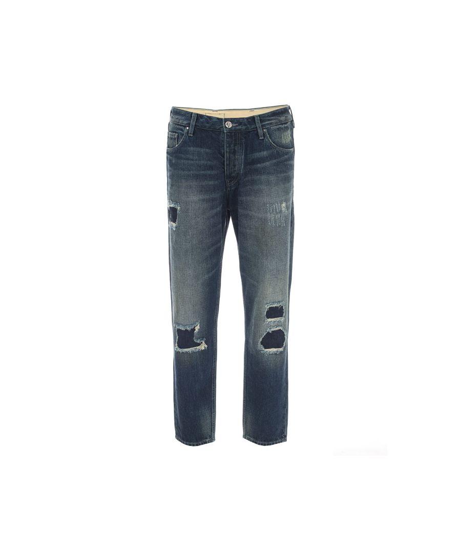Image for Men's Armani 990 Jeans in Denim