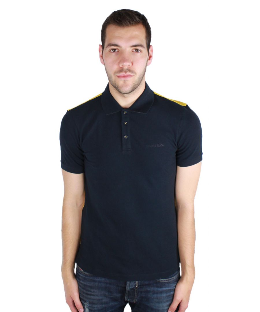 Image for Armani Jeans 6Y6F24 6JPTZ 1579 Polo Shirt