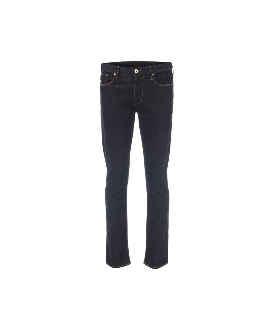 Image for Men's Armani J06 Jeans in Dark Blue