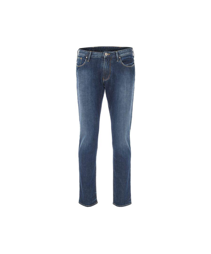 Image for Men's Armani J06 Jeans in Denim