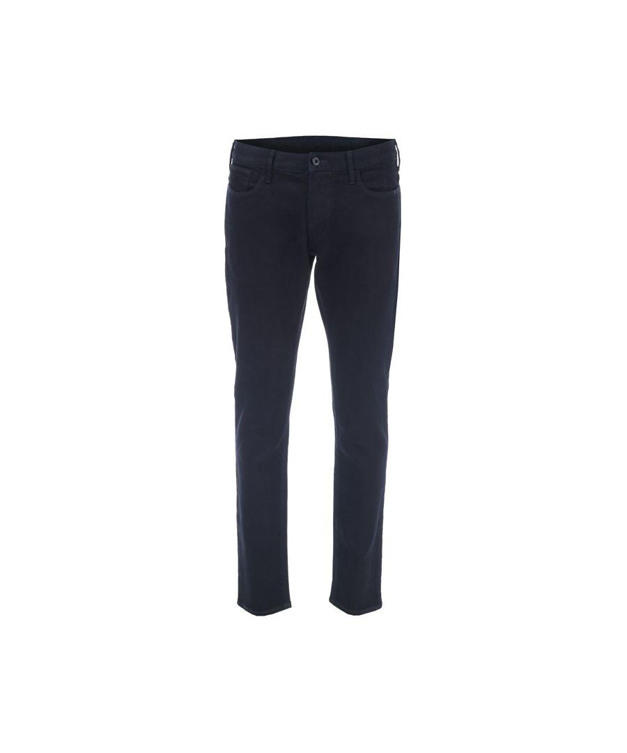 Image for Men's Armani J06 Slim Fit Jeans in Indigo
