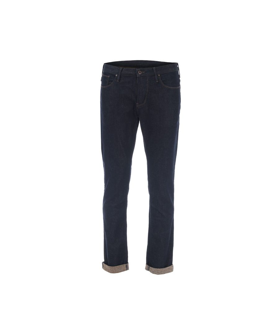 Image for Men's Armani J06 Jeans in Indigo