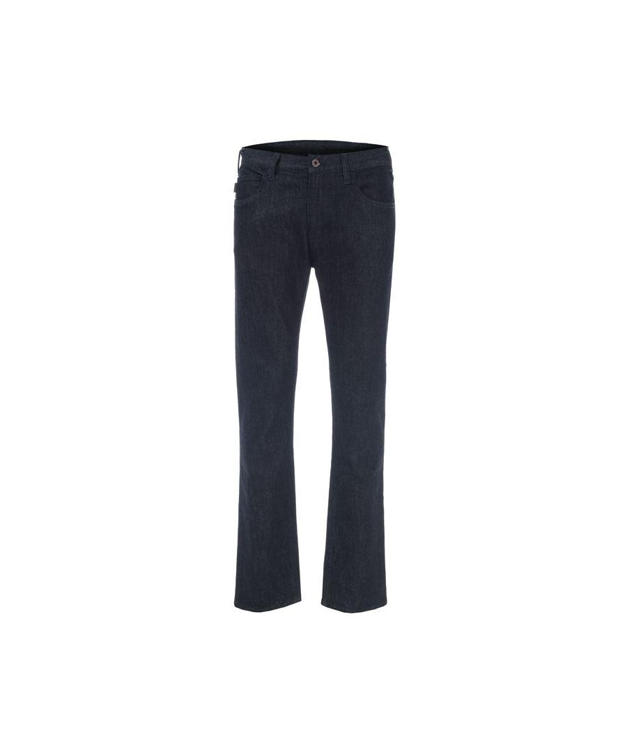 Image for Men's Armani J45 Jeans in Indigo