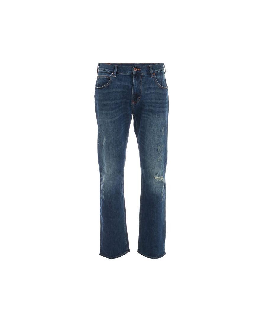 Image for Men's Armani J45 Slim Fit Jeans in Indigo