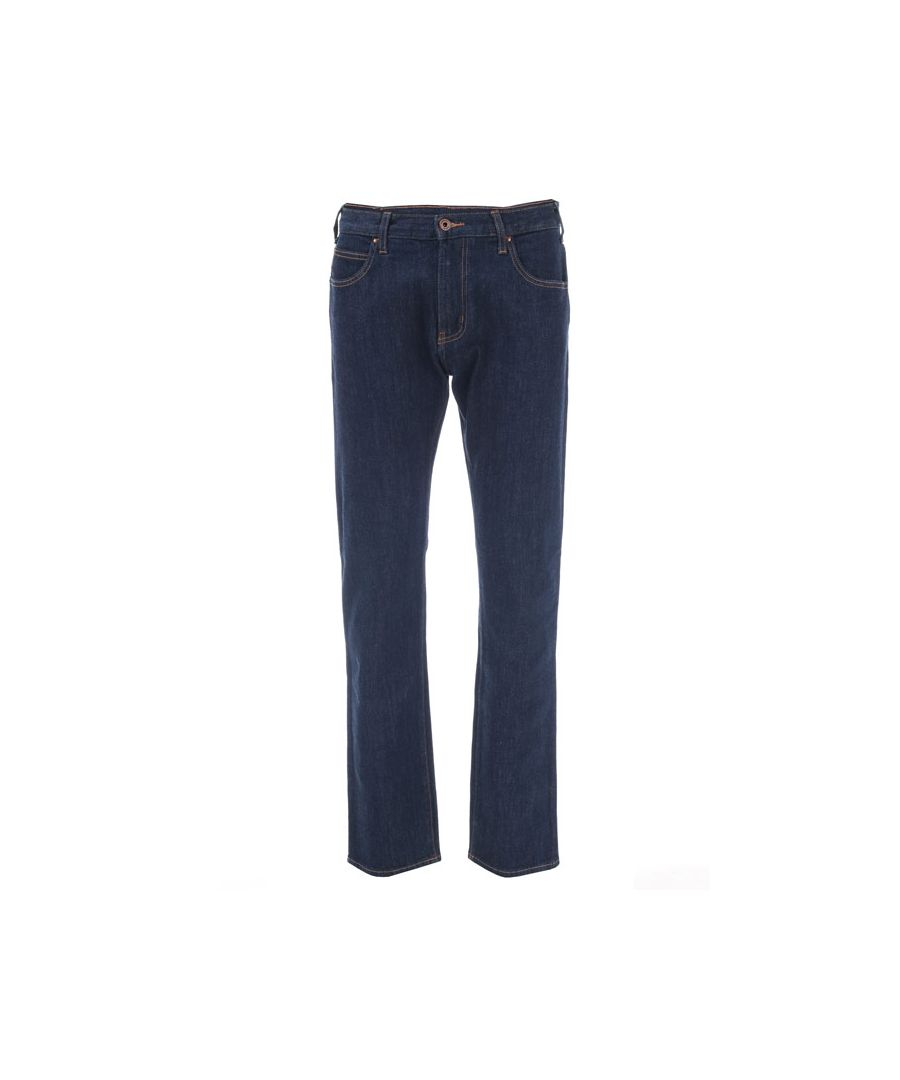 Image for Men's Armani J45 Regular Fit Jeans in Indigo
