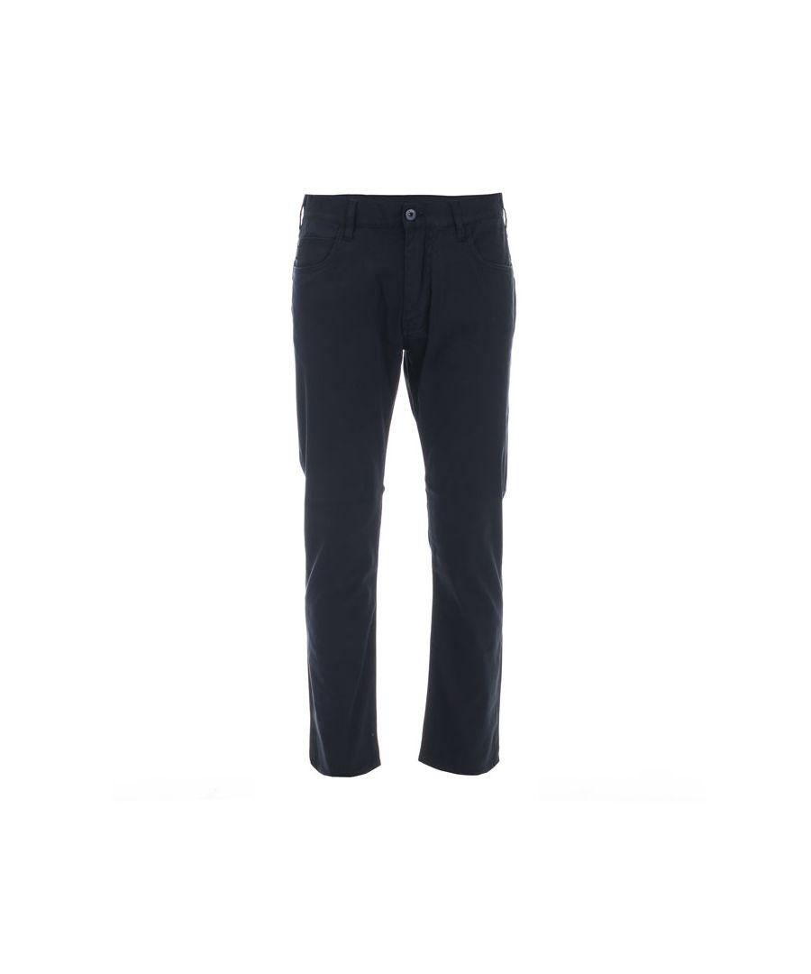 Image for Men's Armani J45 Slim Fit Jeans in Navy