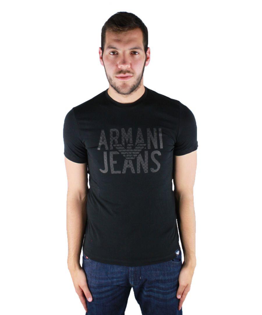 Image for Armani Jeans 6Y6T10 6J0AZ 1200 T-Shirt