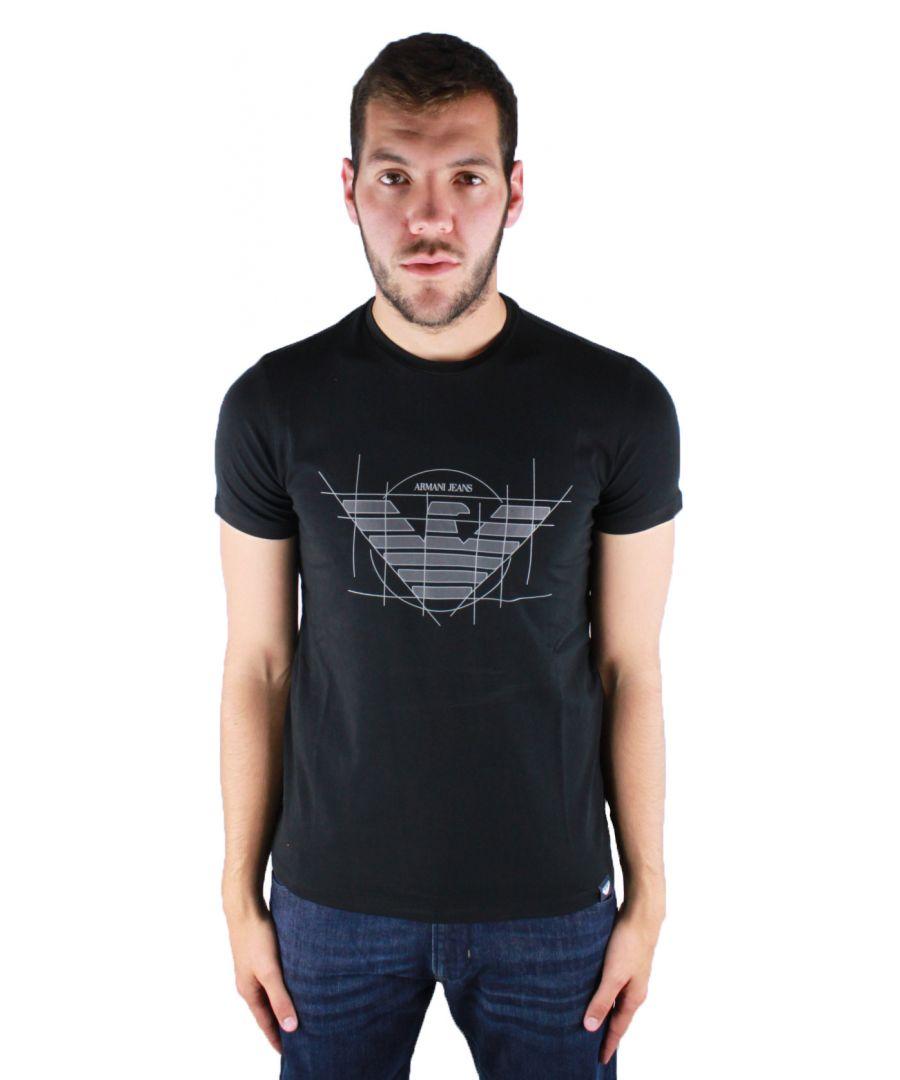 Image for Armani Jeans 6Y6T12 6J0AZ 1200 T-Shirt