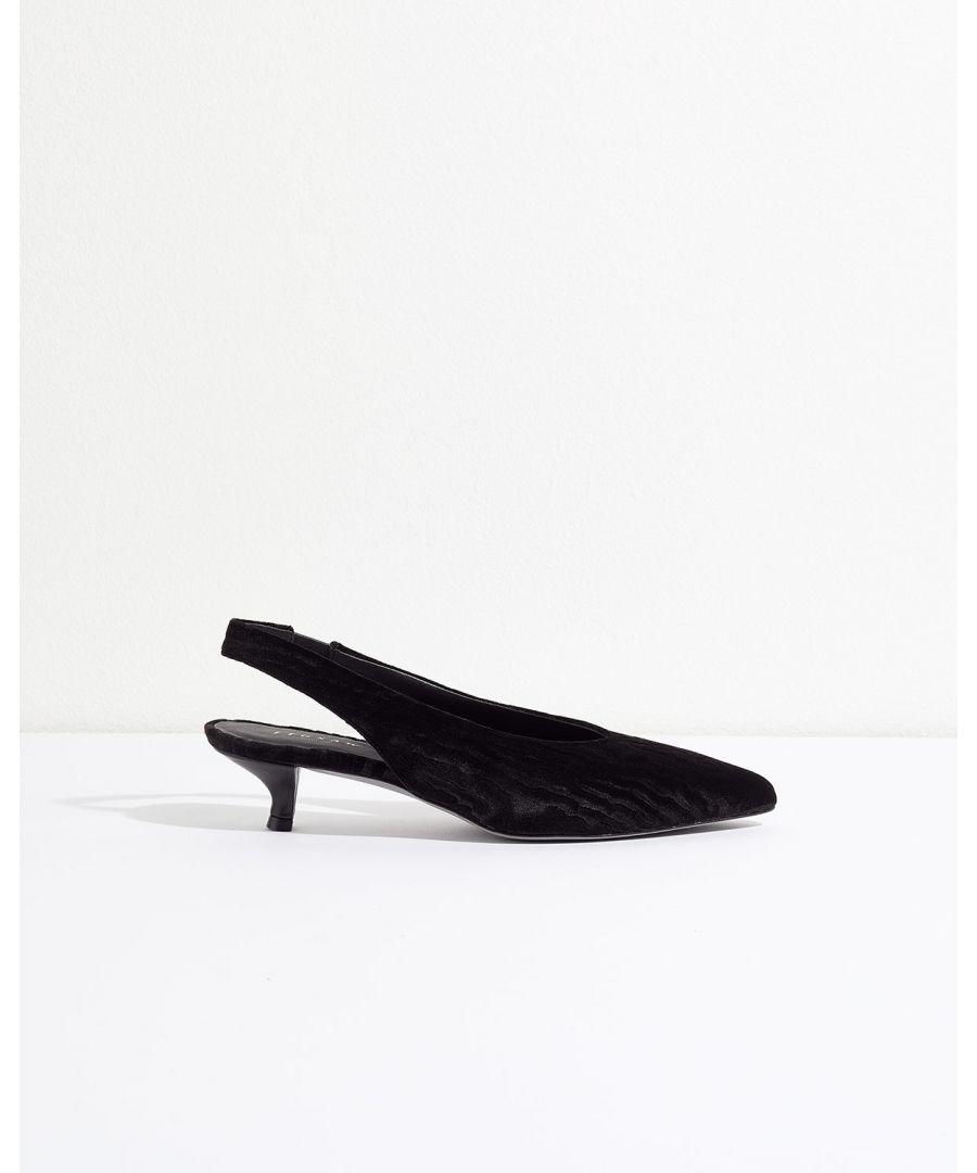 Image for Loren Slingback Kitten Heel