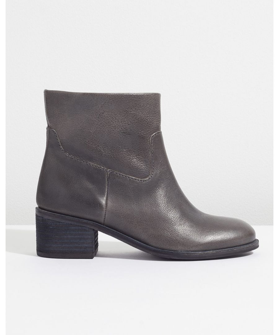 Image for Sienna Pull On Block Heel Boot