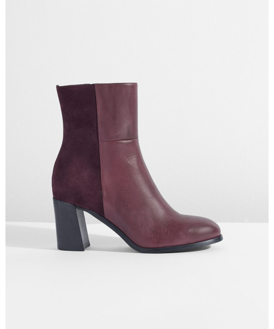 Image for Mai Contrast Heeled Boot