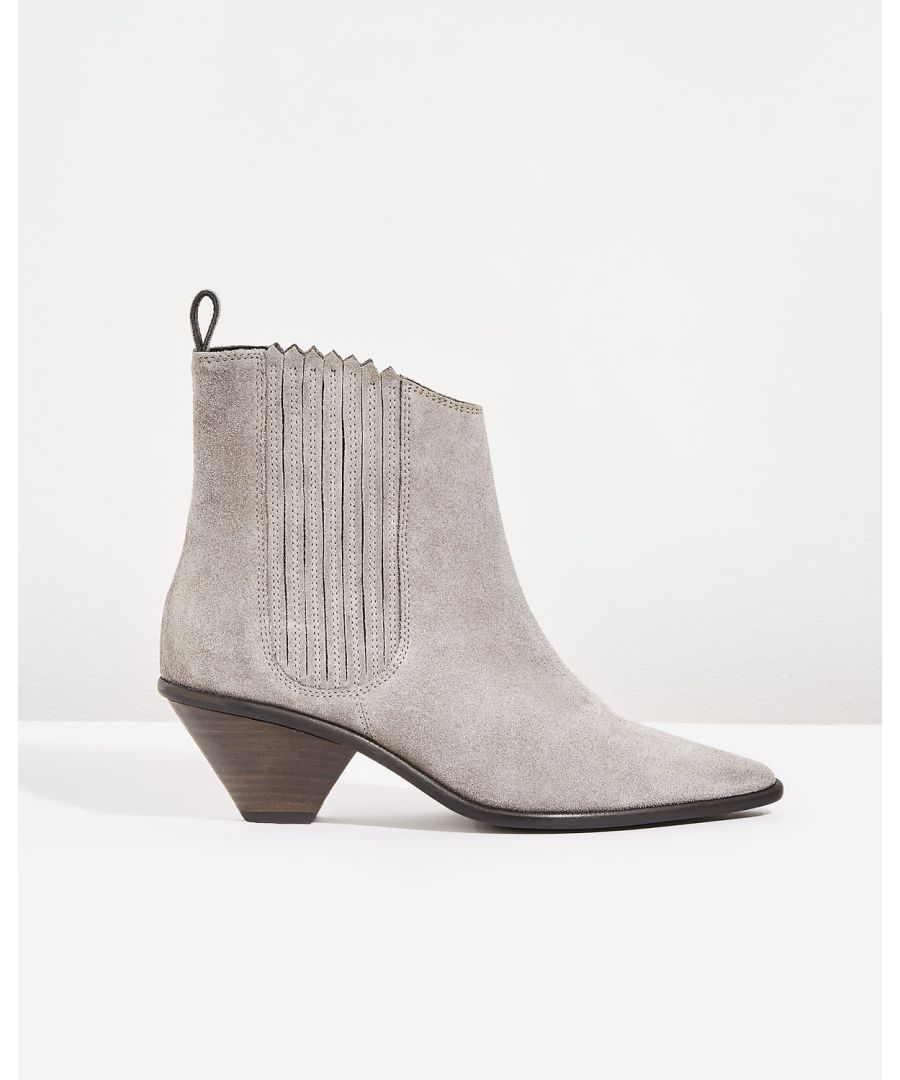 Image for Camila Suede Western Boot