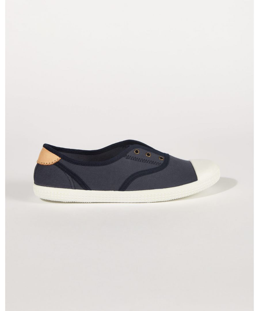 Image for Libby Canvas Plimsoll