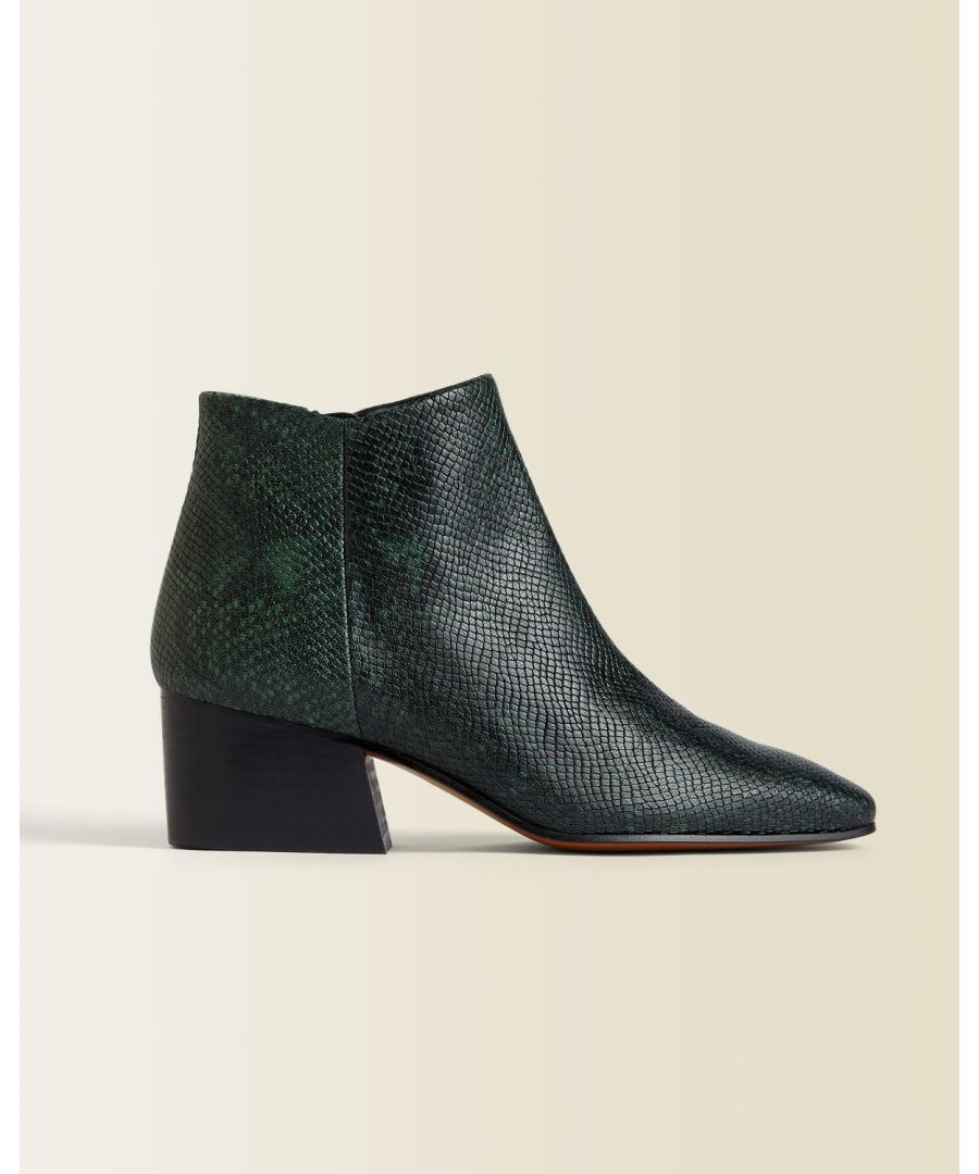 Image for Dapper Leather Ankle Boot