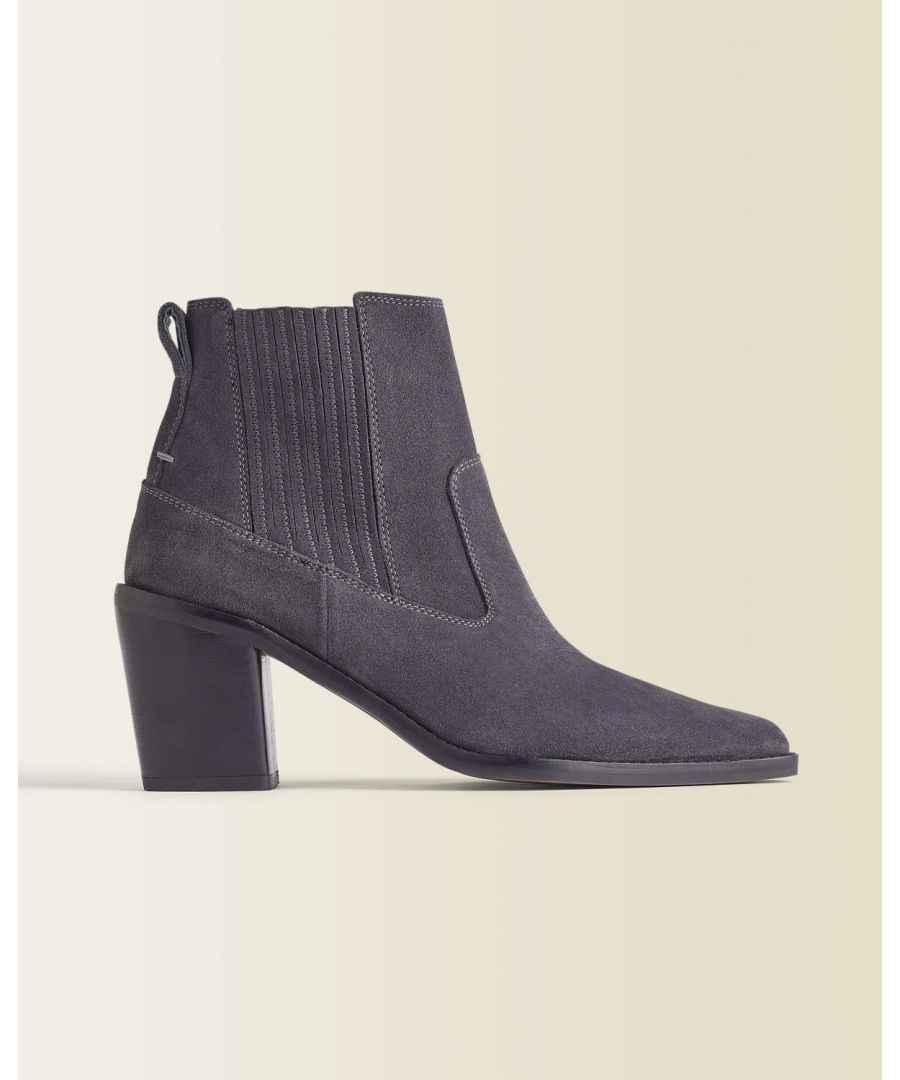 Image for Adrienne Suede Ankle Boot