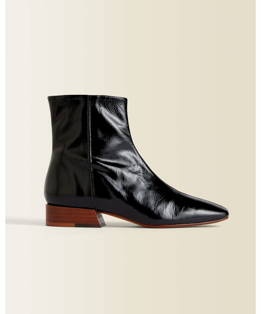 Image for Anson Leather Ankle Boot