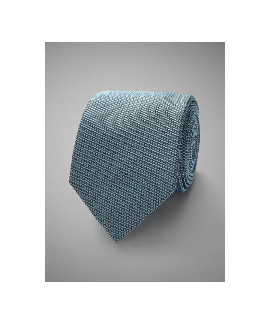 Image for Textured Woven Silk Tie