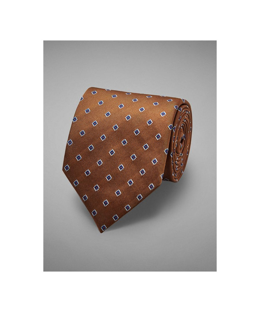 Image for Floral Neat Woven Tie