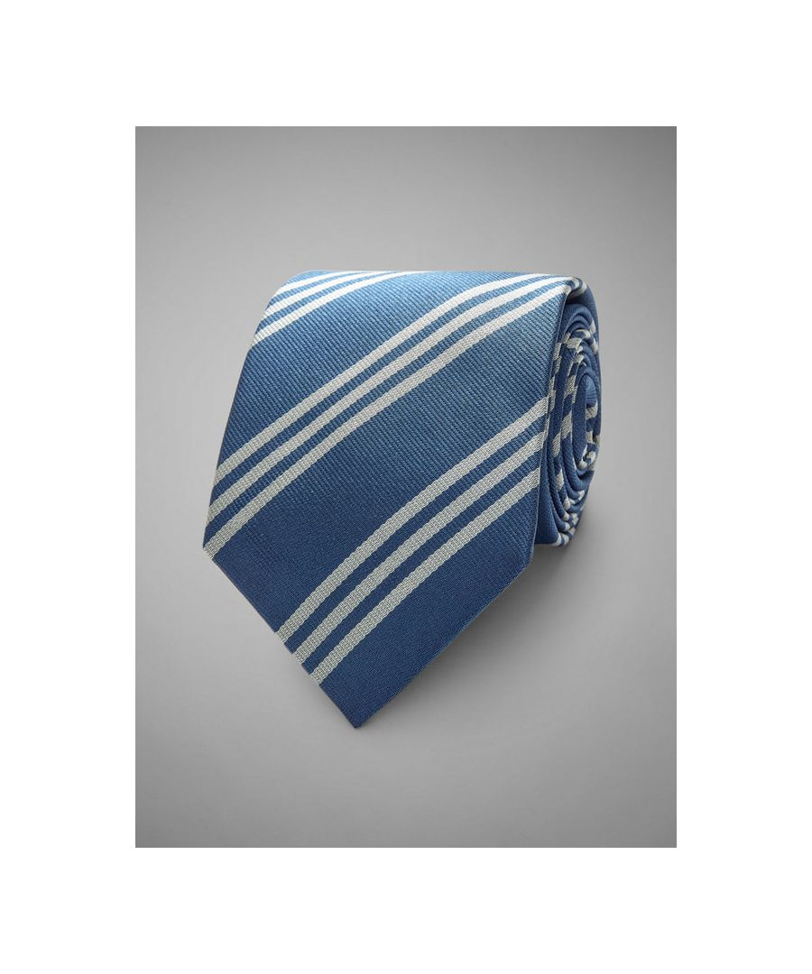 Image for Triple Stripe Woven Silk Tie
