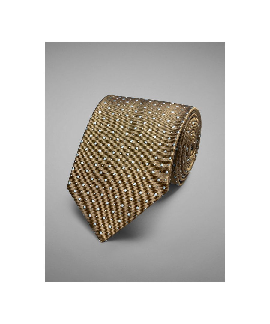 Image for Two Dot Woven Tie
