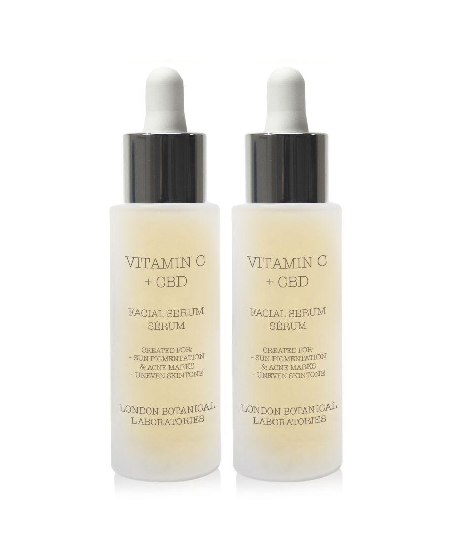 Image for 2 x Vitamin C + CBD Serum 30ml
