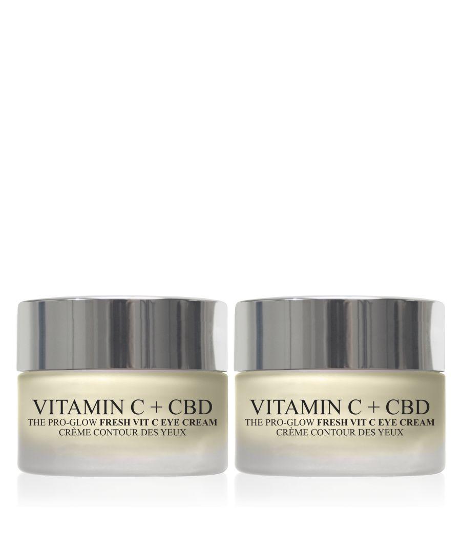 Image for 2 x Vitamin C + CBD Eye Cream 15ml