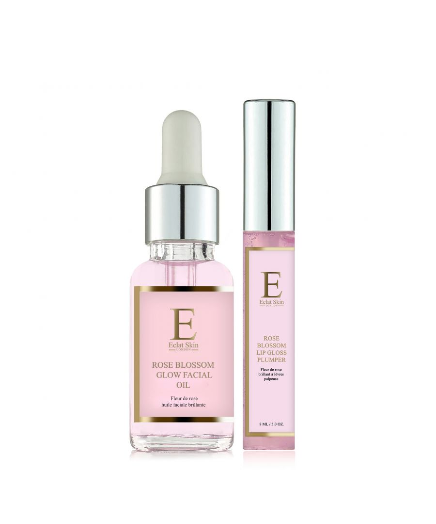 Image for Rose Blossom Lip Gloss Plumper 8ml + Rose Blossom Glow Facial Oil 30ml