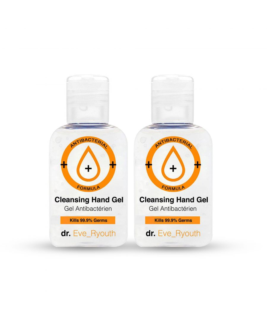 Image for 2 x Quick-Drying Anti-Bacterial Hand Gel Sanitizer 50ml