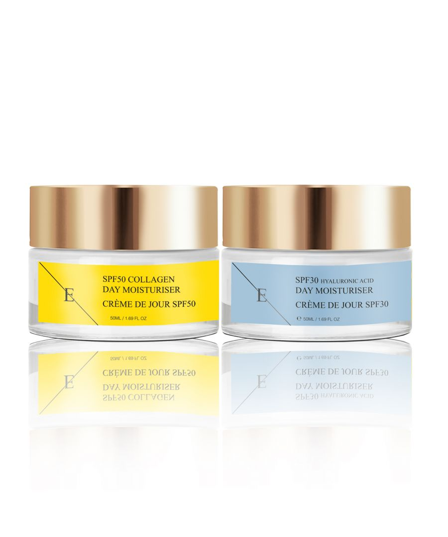 Image for Retinol + Caviar Moisturiser 50ml + SPF50 Collagen Day Cream 50ml