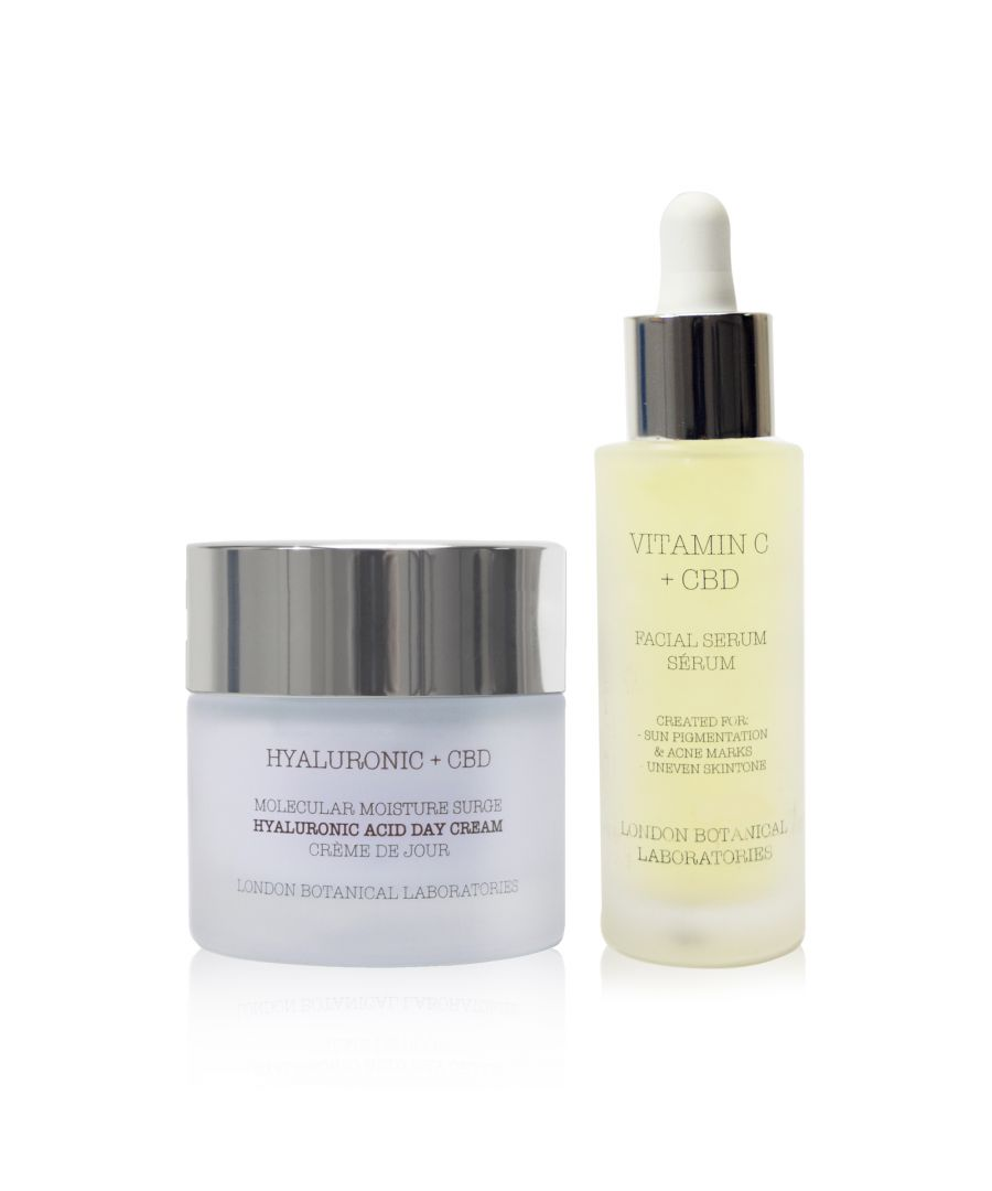 Image for Hyaluronic acid day cream +  vitamin c serum