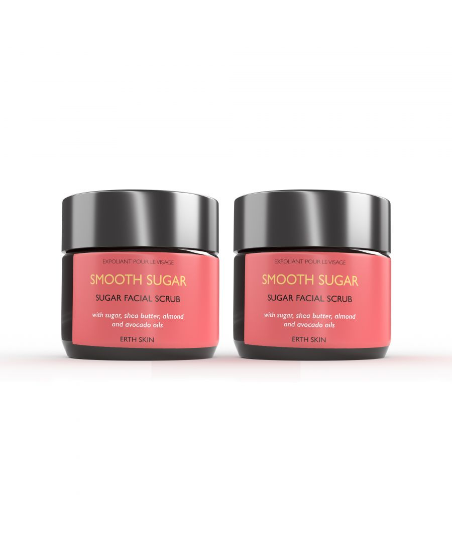 Image for 2 x SMOOTH SUGAR - sugar scrub