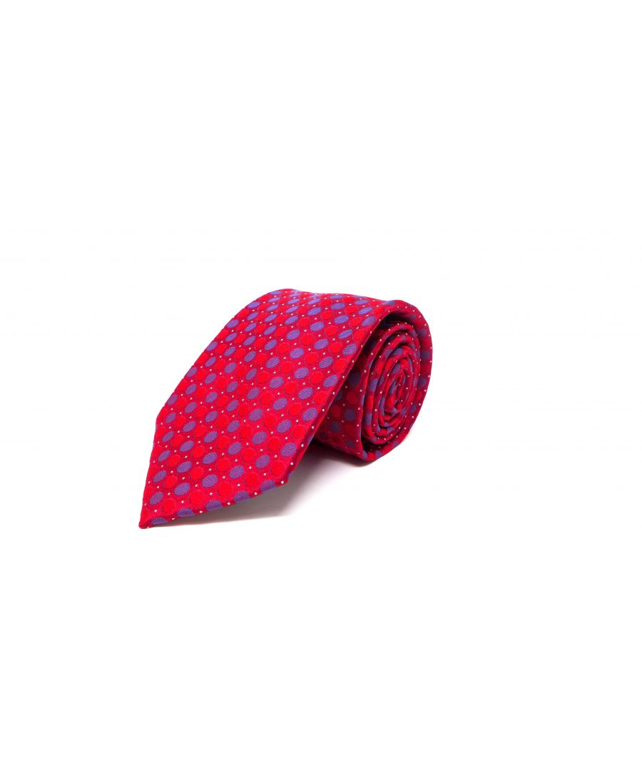 Image for SC TIE 10217 CIRCLES RED