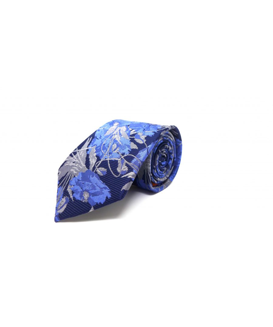 Image for SC TIE BOLD FLOWER NAVY
