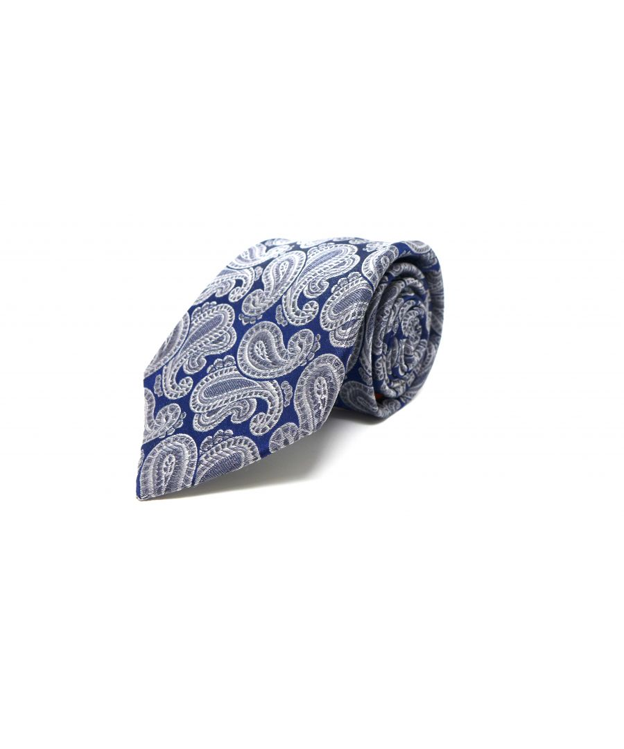 Image for SC TIE 10218 PAISLEY SHADOW SILVER