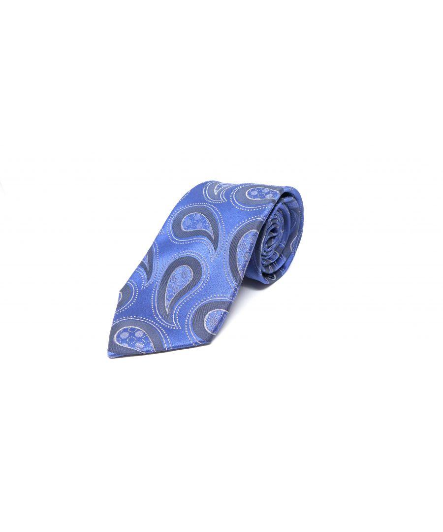 Image for SC TIE 10102 BARBA BLUE/GREY