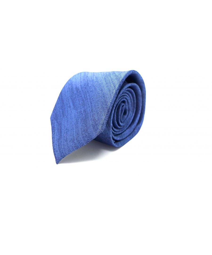 Image for SC TIE 10017 MOIRE BLUE