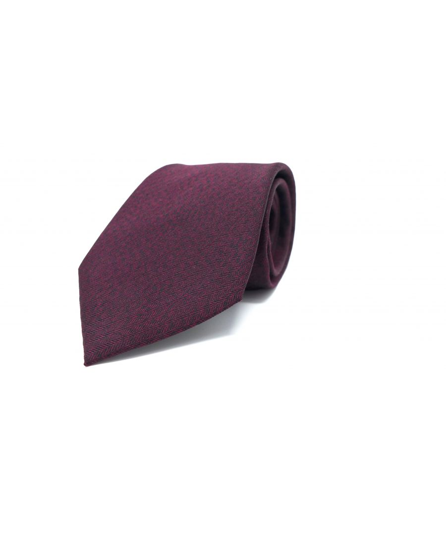 Image for SC TIE 10017 MOIRE BURGUNDY