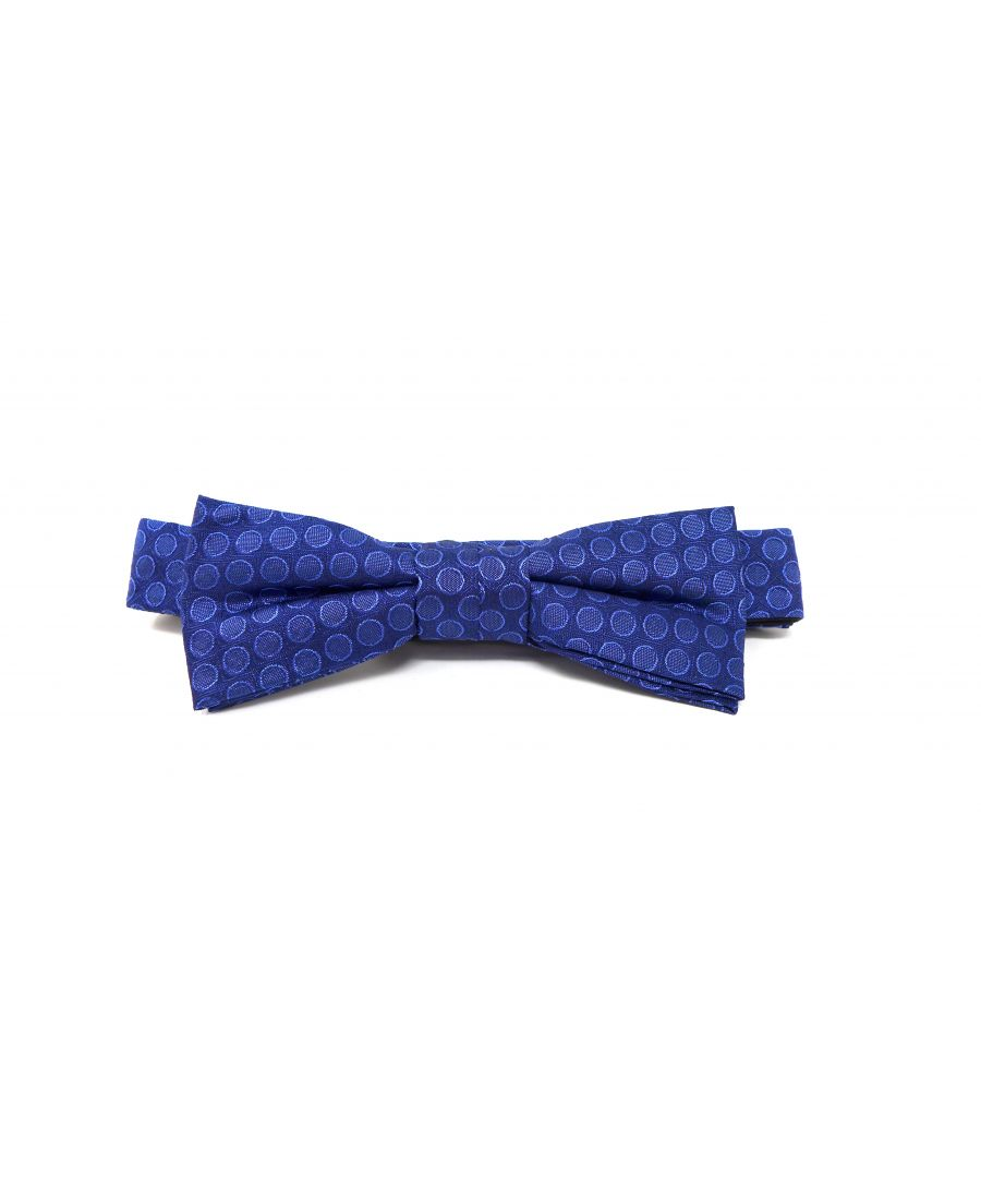 Image for BOW TIE DOTS BLUE
