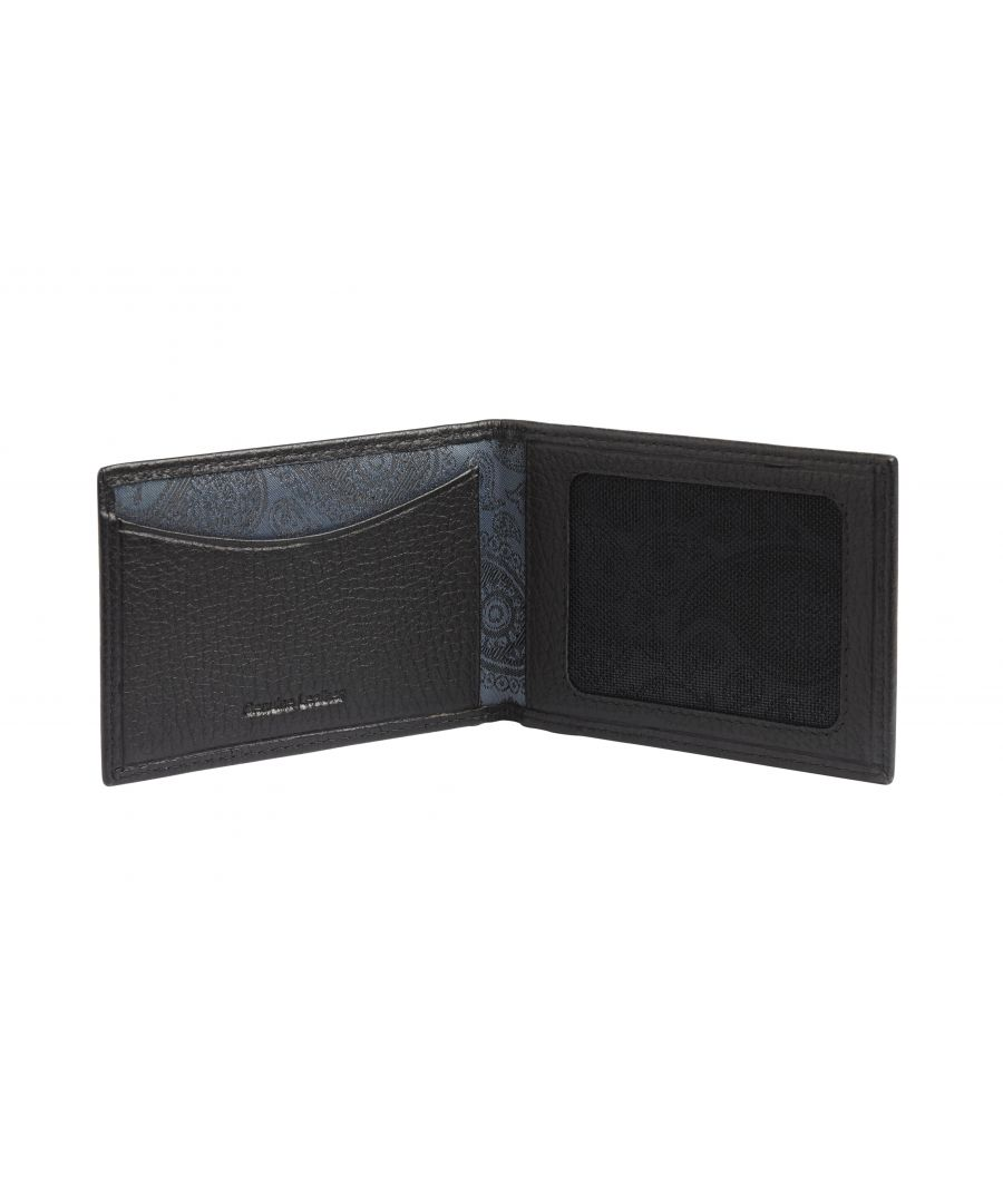 Image for Black Leather Travelcard Holder