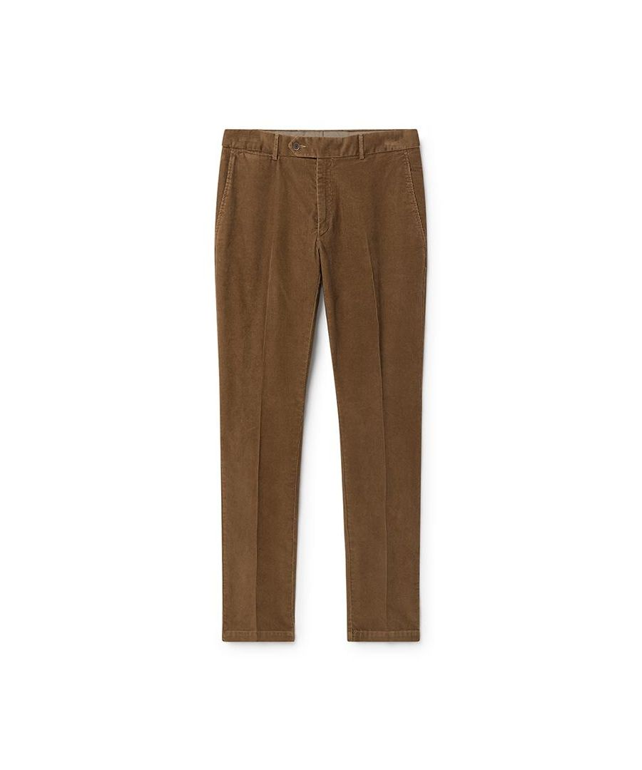 Image for Men's Hackett Corduroy Chinos in Camel