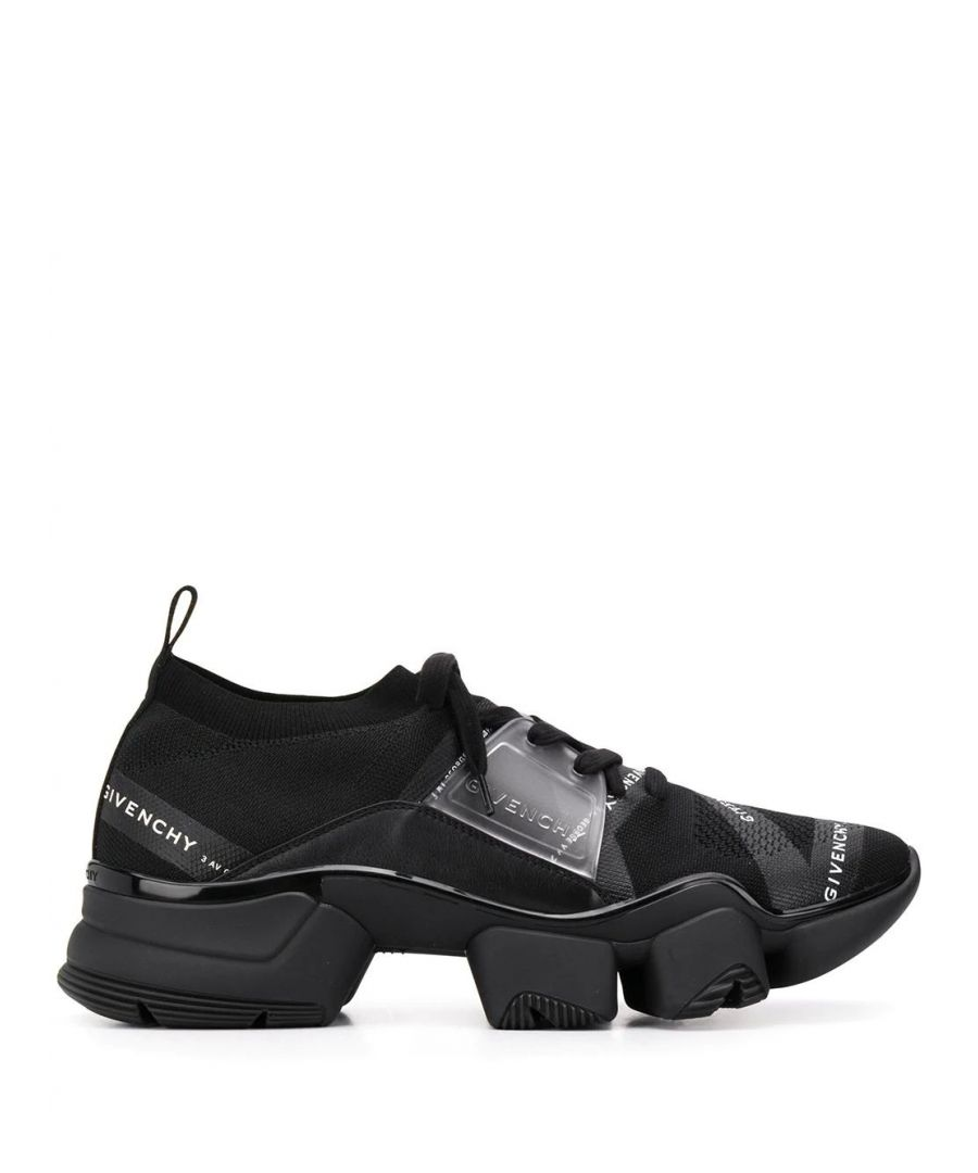 Image for GIVENCHY MEN'S BH002MH0KM001 BLACK SYNTHETIC FIBERS SNEAKERS