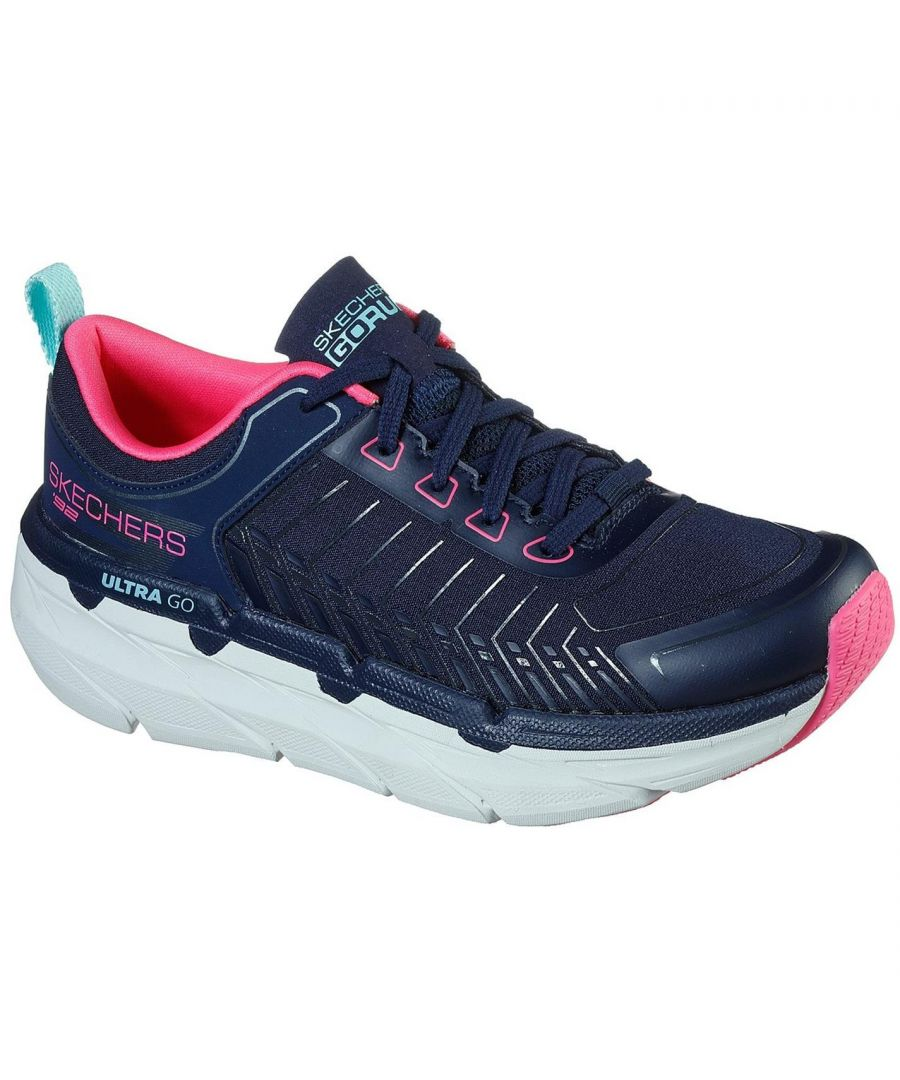 Image for Skechers Women's MC Prem FA Lace Up Trainers Runners Sports Shoes