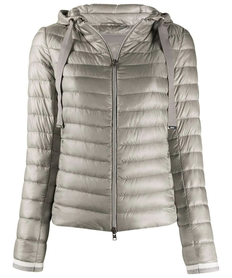 Image for HERNO WOMEN'S PI1060D120179408 GREY POLYAMIDE DOWN JACKET