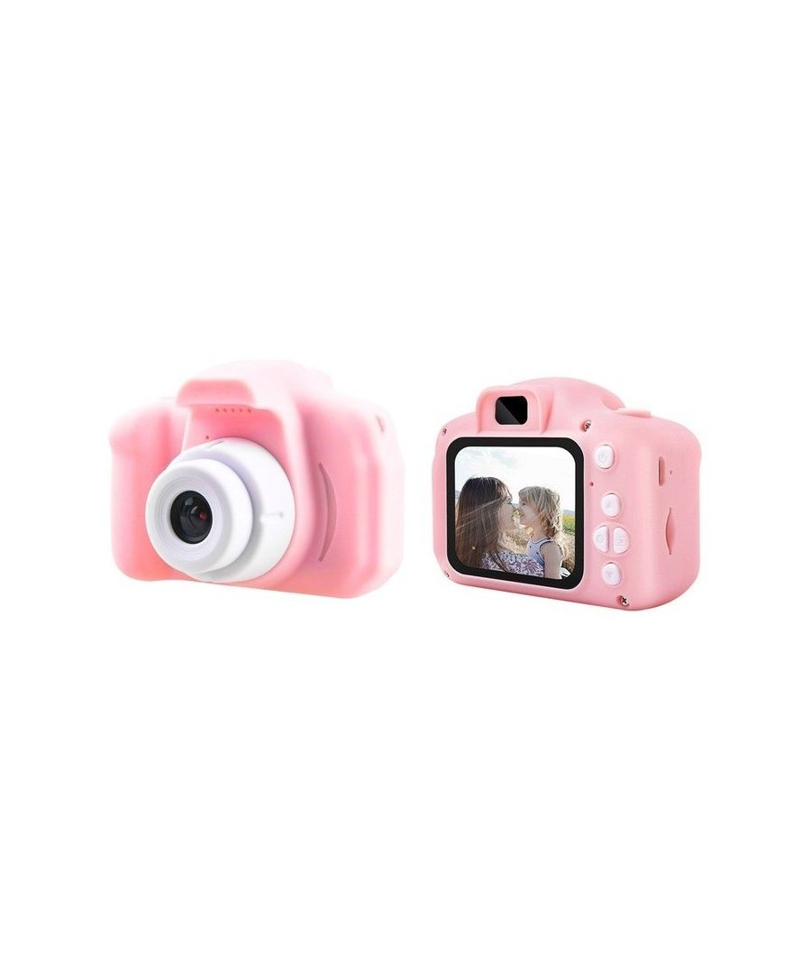 Image for LKS HD 1080p Kids Photo / Video Camera and Built-in Games, Rosa